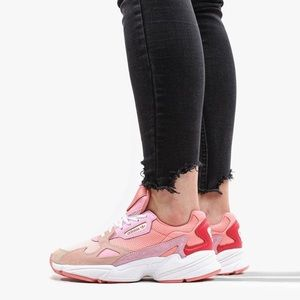 ADIDAS: Chunky Valentine Pink Textured Sneakers